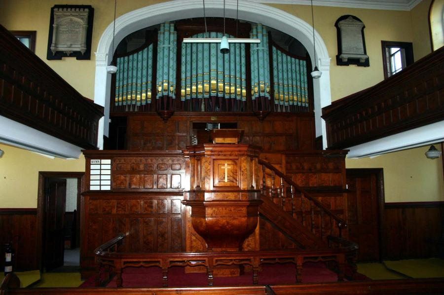 decorative victorian organ pipes