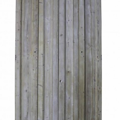 A pair of C. 1840 stripped pine window shutters
