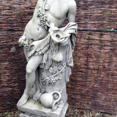 Reclaimed Stone Male Statue