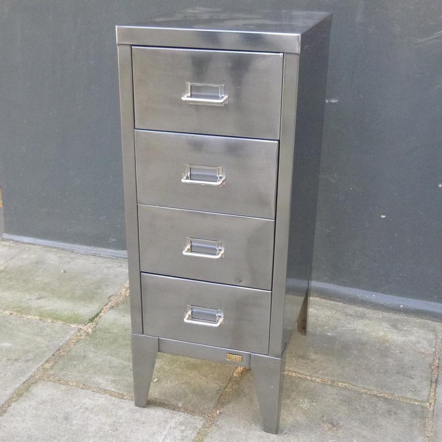 Vintage Metal Filing Cabinet For Sale Part - 15: Vintage Metal Filing Cabinet