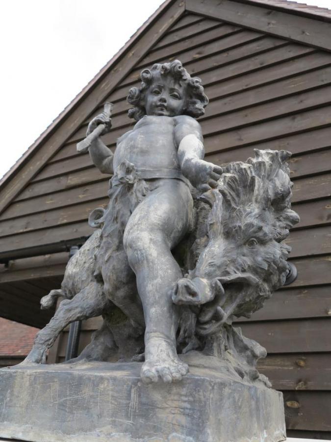 A Grand Scale Bromsgrove Guild Boy and Boar