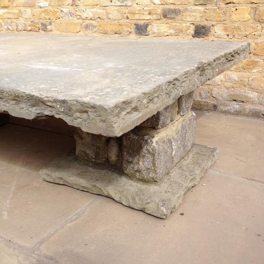 Reclaimed Stone Table