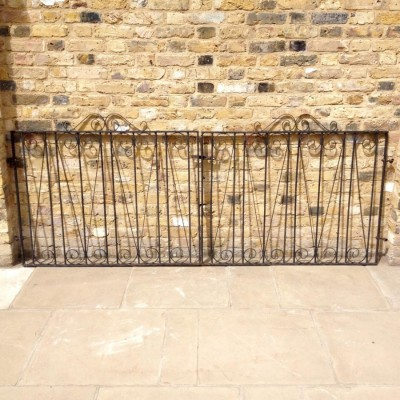 Pair Of Reclaimed Gates