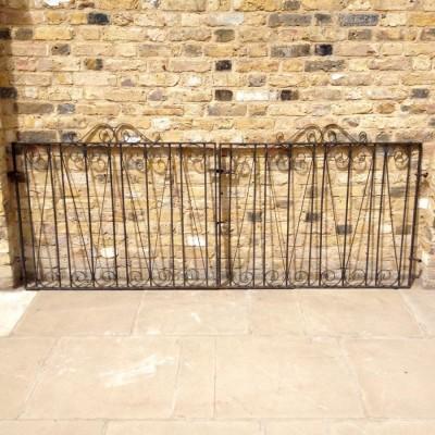 Pair Of Reclaimed Gates