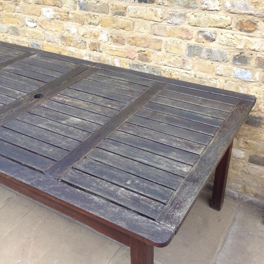 Reclaimed Hardwood Table