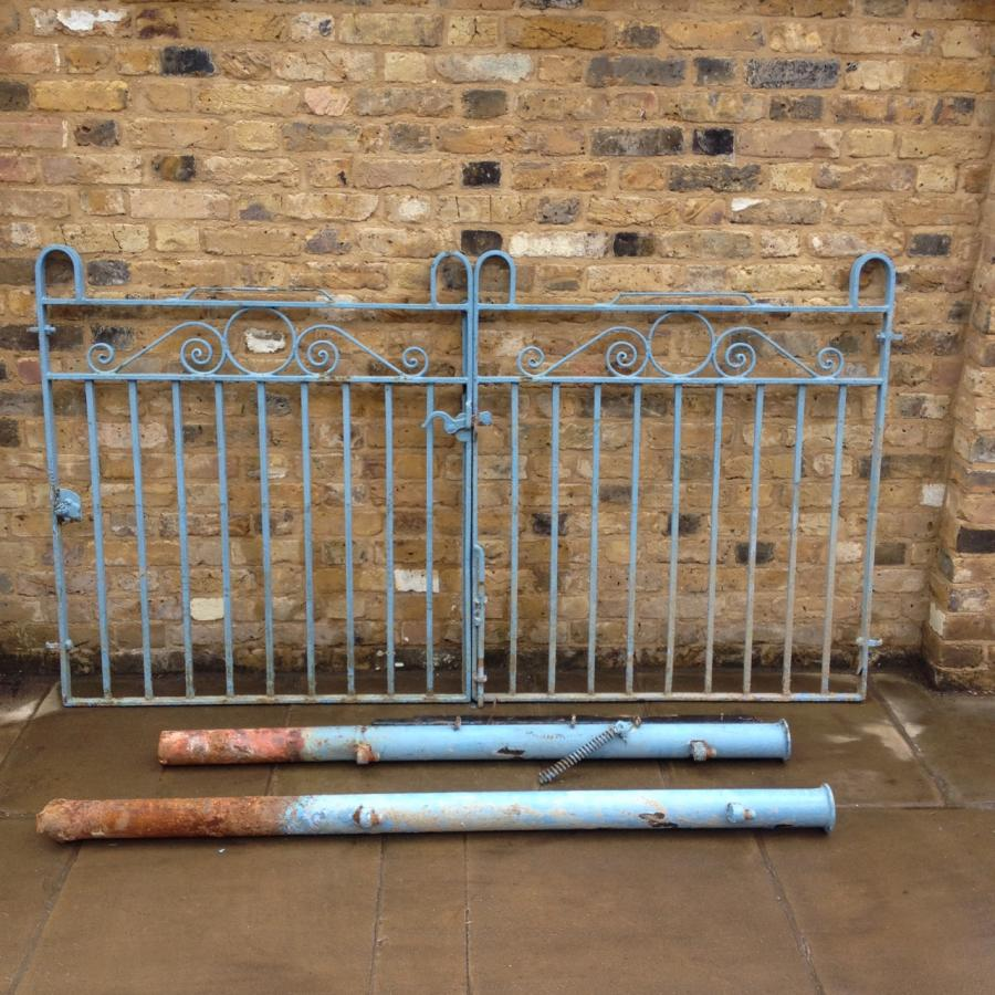 A Pair Of Reclaimed Iron Gates