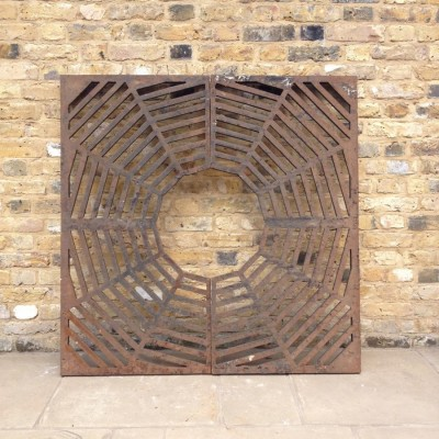 Reclaimed tree Grate