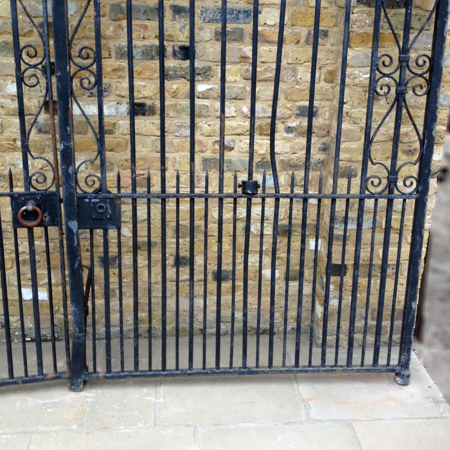A Par Of Reclaimed Entrance Gates