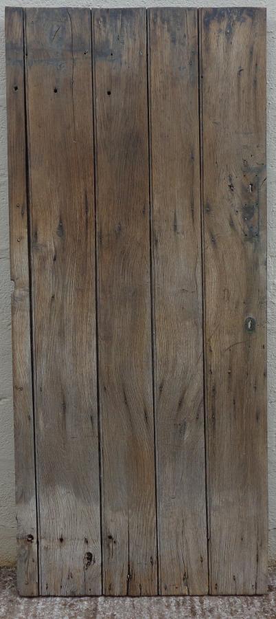 Oak ledged door