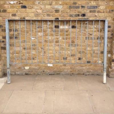 Reclaimed Galvanised Railings