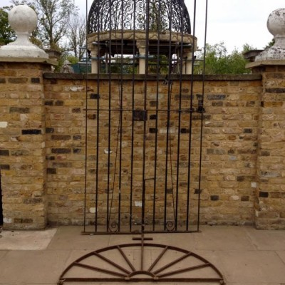 Reclaimed Cast Iron Gates