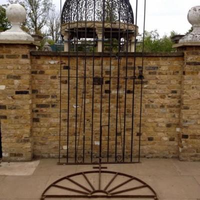 Reclaimed Cast Iron Gates