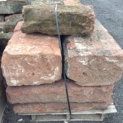 Reclaimed Dressed Red Cheshire Sandstone