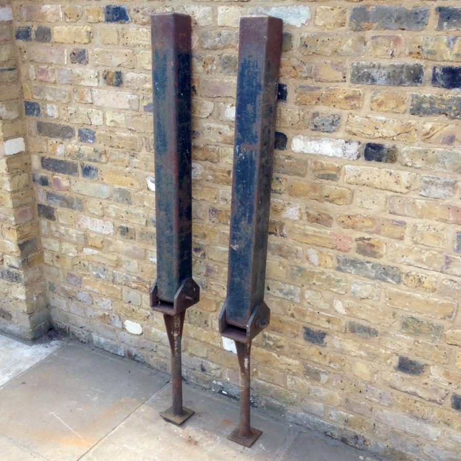 Reclaimed Tilting Parking Bollards