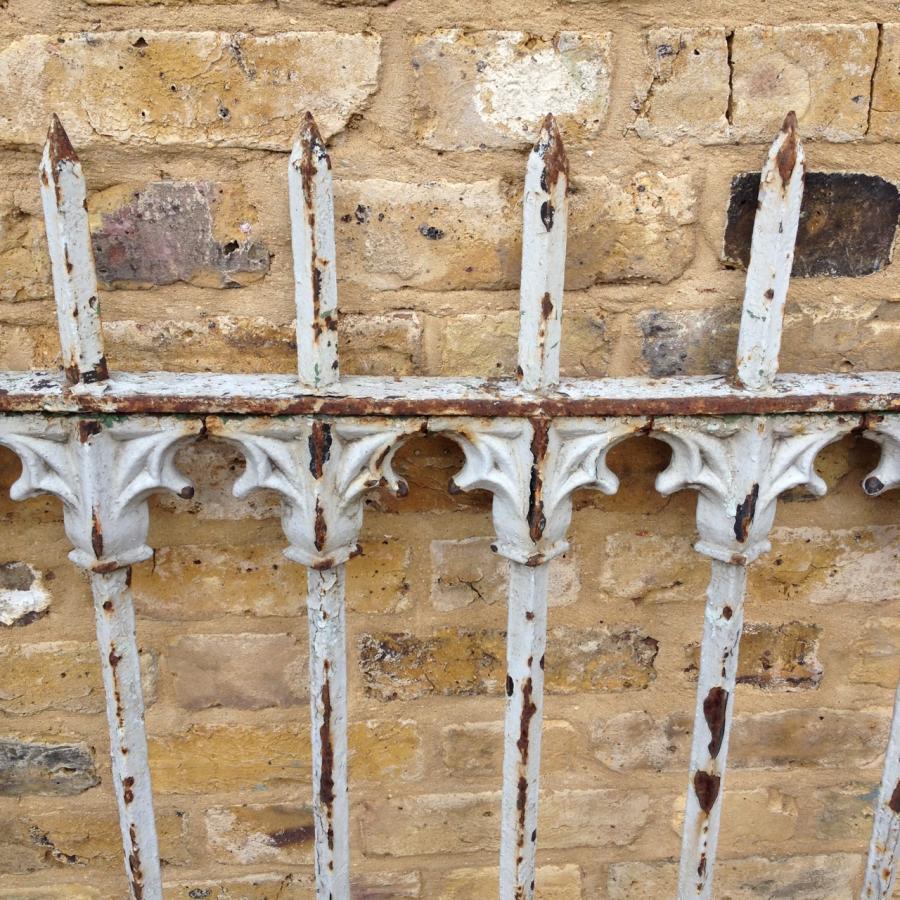 Reclaimed Ornate Railings