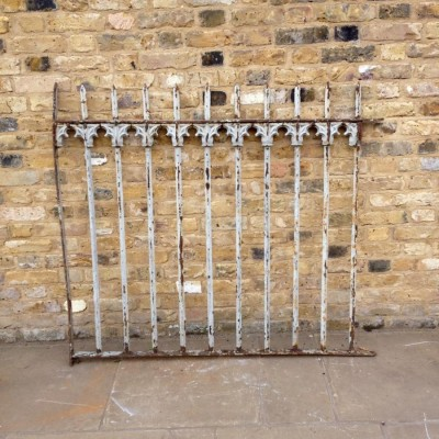 Reclaimed Ornate Railings