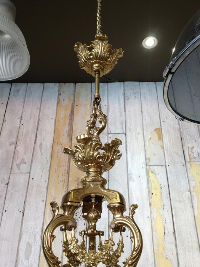 For sale grand rococo style gold plated chandelier salvo uk grand rococo style gold plated chandelier aloadofball Choice Image