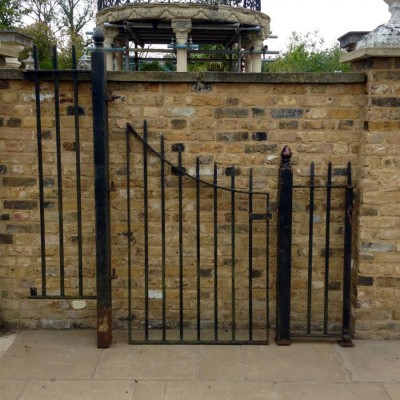 A Reclaimed Wrought Iron Gate