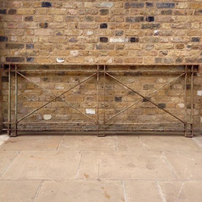 A Pair Of Wrought Iron Railings
