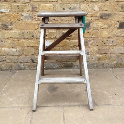 A Small Reclaimed Step Ladder