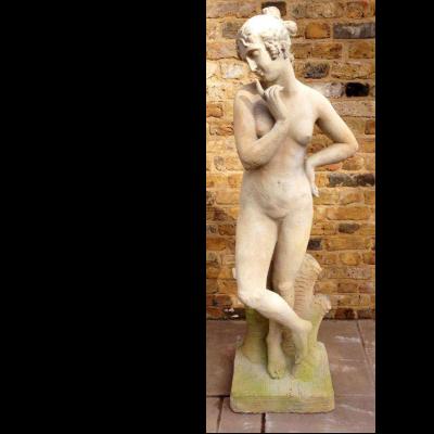 Reclaimed Stone Aphrodite Statue