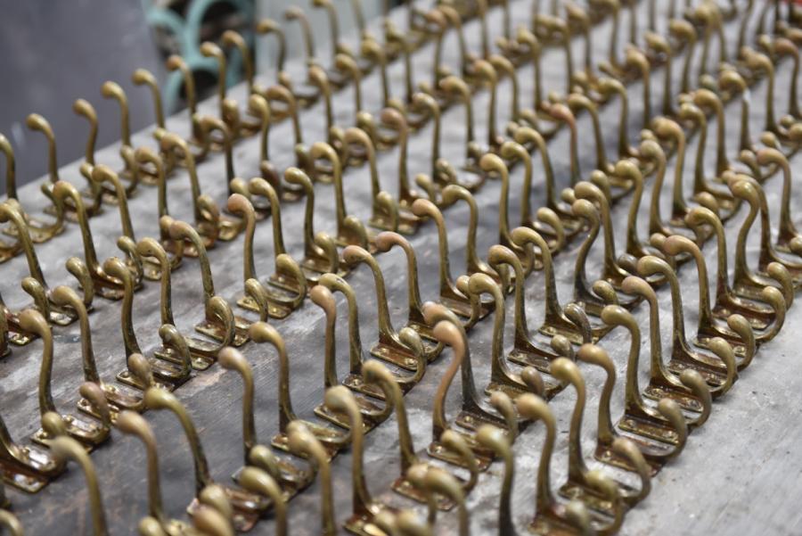 vintage coat hook army