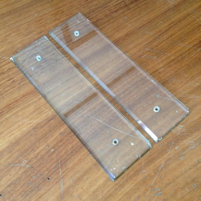 Glass Finger plates