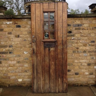 Recaimed Oak Entrance Door