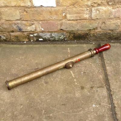 Reclaimed Brass Pump
