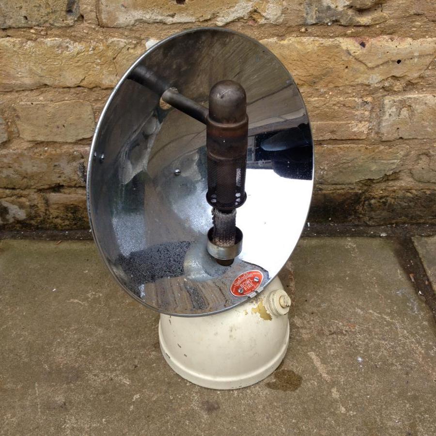 Reclaimed Oil Lamp