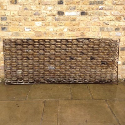 A Reclaimed Wrought Iron grid