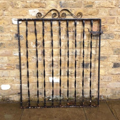 Reclaimed Iron Gate and Railings