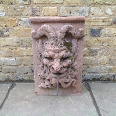Reclaimed Stone Satyr Fountainhead