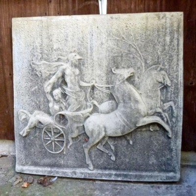A Reclaimed Stone Plaque