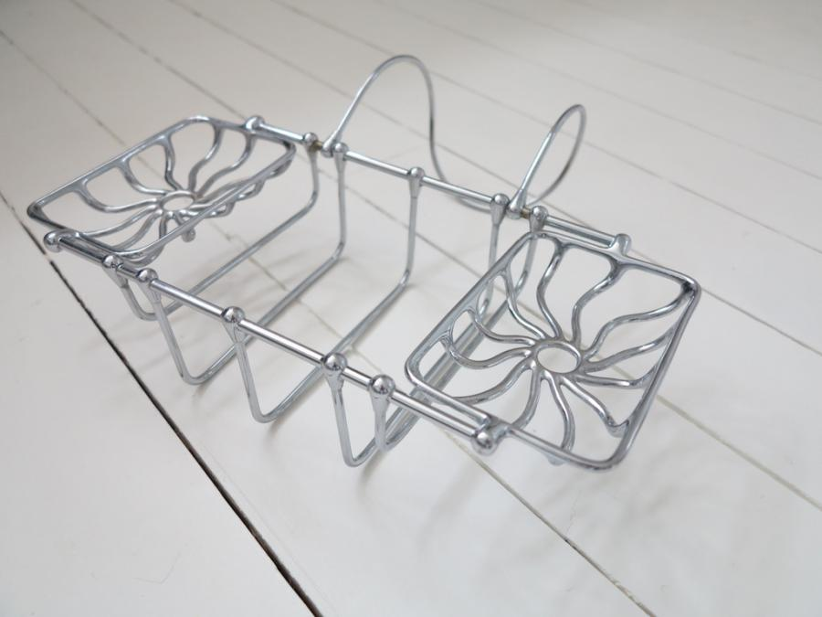 For Sale Solid Brass Chrome Plated Victorian Bath Accessories Holder ...