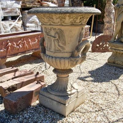 Reclaimed Thomas Hope Stone Vase