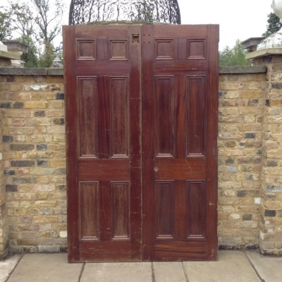 Pair Of Reclaimed Double Doors