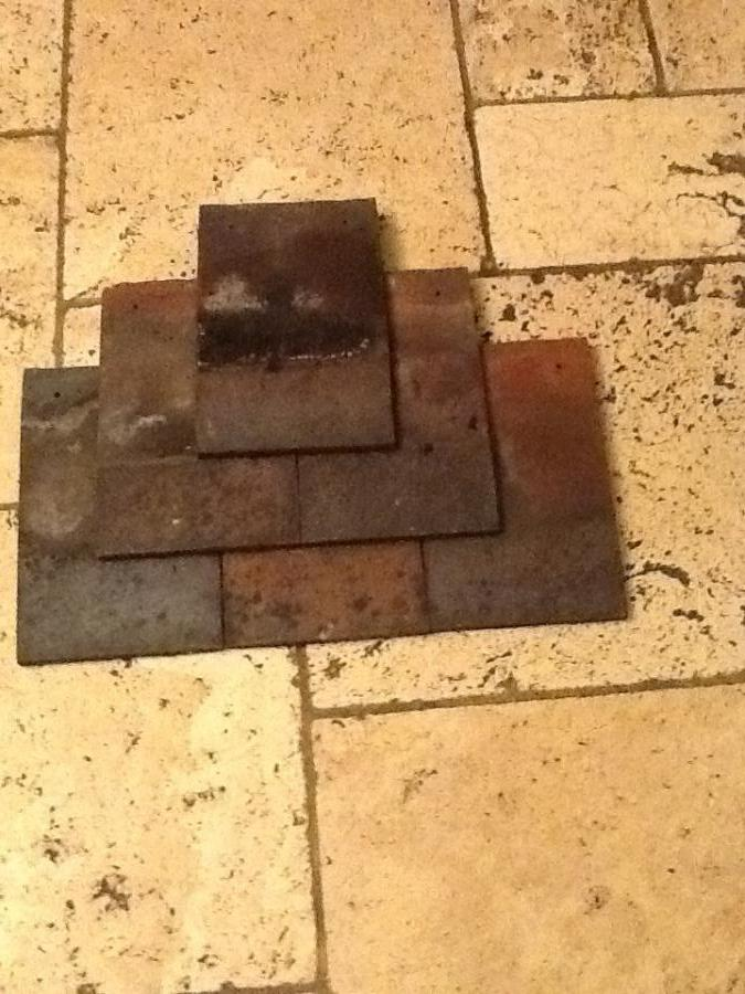"""Reclaimed Dreadnought 10"""" x 6"""" clay tiles"""