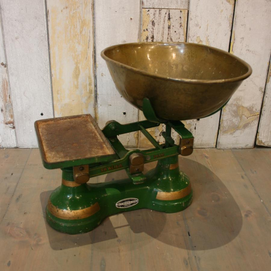 For Sale Set Of Vintage Kitchen Scales Salvoweb Uk