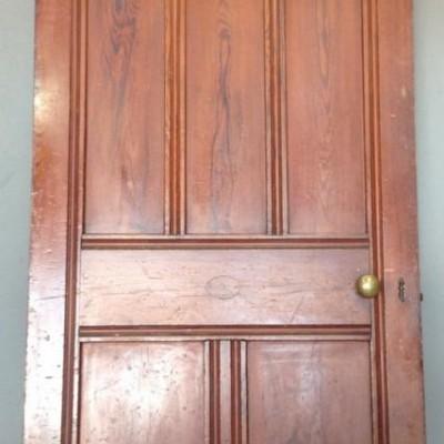 Reclaimed Pitch Pine Doors