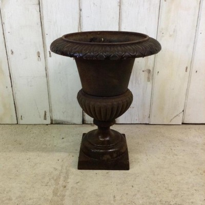 Reclaimed Cast Iron Urn