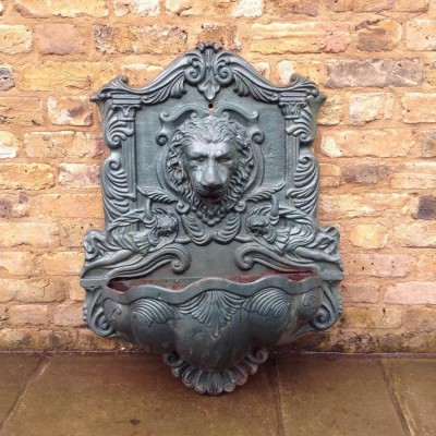 Reclaimed Cast Iron Fountainhead