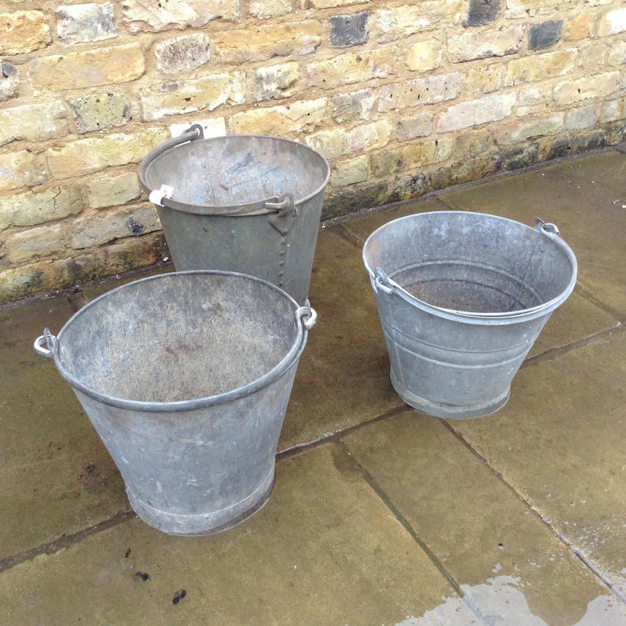 Reclaimed Buckets