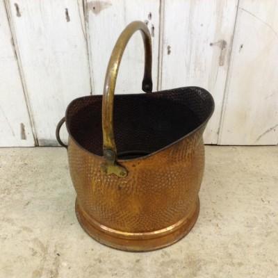 Reclaimed Copper Bucket