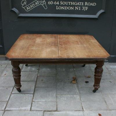 Antique Edwardian Large Oak Table