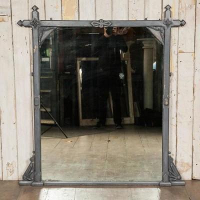 Antique Victorian Arts & Crafts Mirror