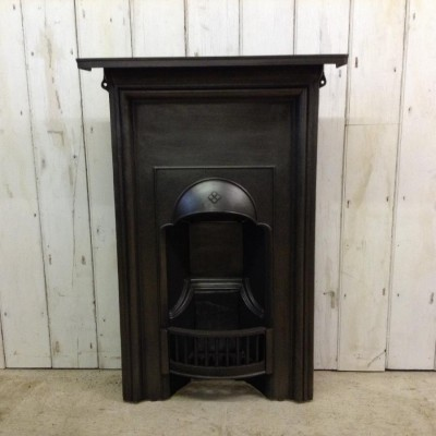 Antique Reclaimed Edwardian Fireplace