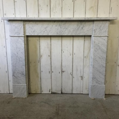 Reclaimed Marble Fireplace Surround