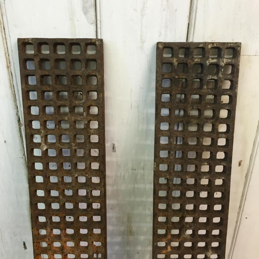 Pair of Reclaimed Drain Covers