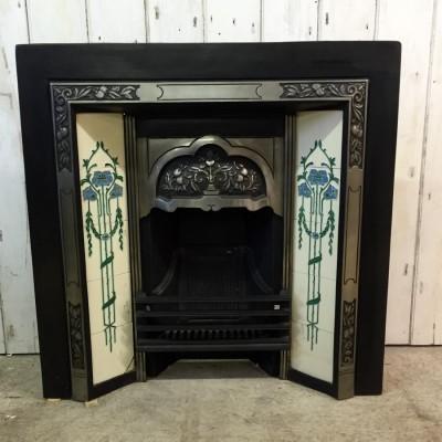 Reclaimed Cast Iron Tile Insert